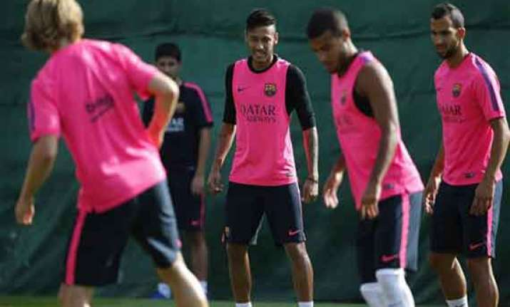 neymar recovered from back injury fit to play