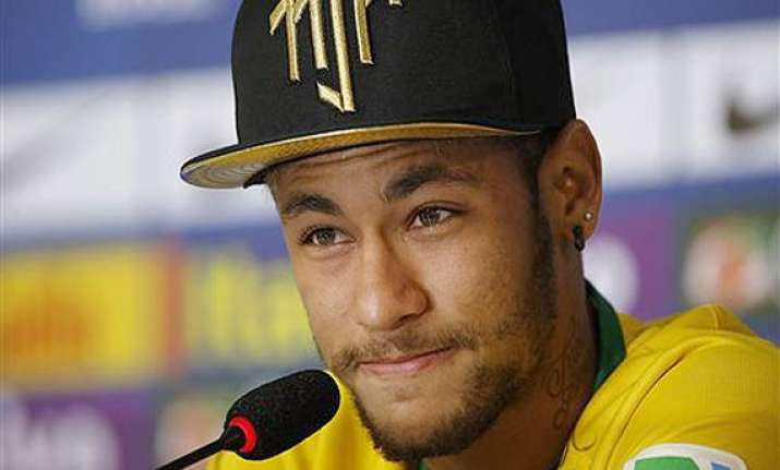 neymar thankful he s not in a wheelchair now will cheer for