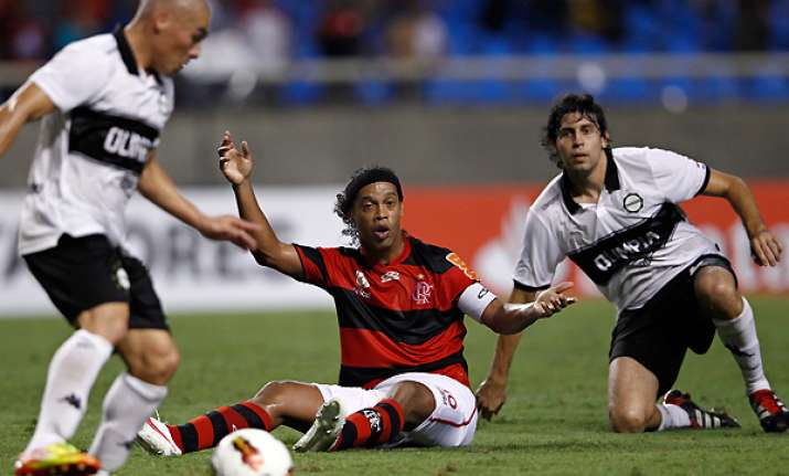 olimpia rallies for 3 3 draw with flamengo