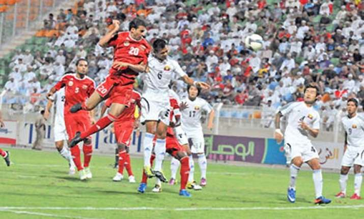 oman beats myanmar in world cup qualifying