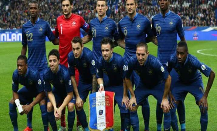 only 9 percent french fans think les bleus will win world