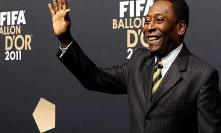 pele will also meet with blatter brazil president