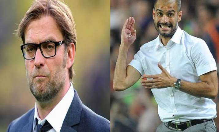 klopp guardiola not interested in manchester united job