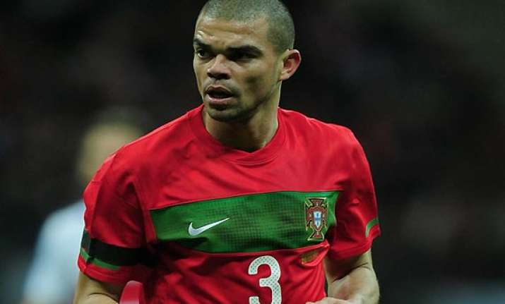 pepe returns for portugal as nani keeps his place