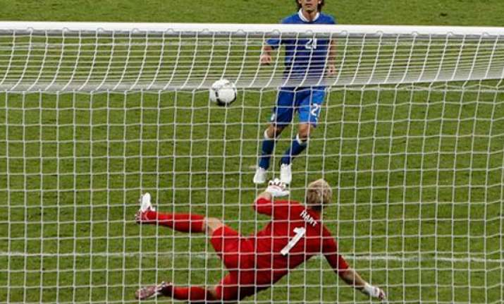 pirlo sets the pace in italy s win over england