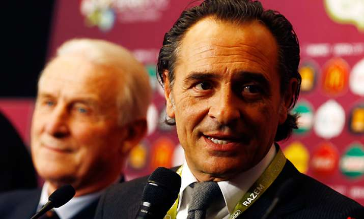 prandelli worried about croatia in euro 2012 group