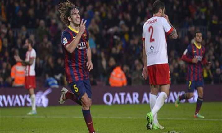 puyol to leave barcelona at end of season