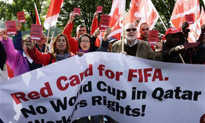 qatar world cup fifa agrees to set up task force