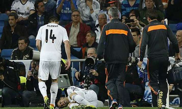 real madrid s jese rodriguez suffers inflammation in knee