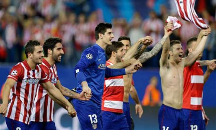 real madrid to face bayern atletico gets chelsea