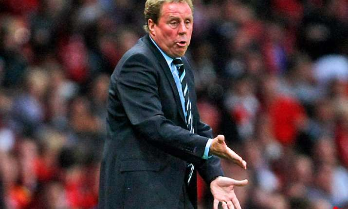 redknapp complains about bad feeling around spurs
