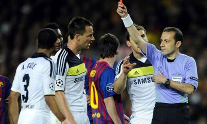 referees cakir lannoy picked for euro 2012 semis