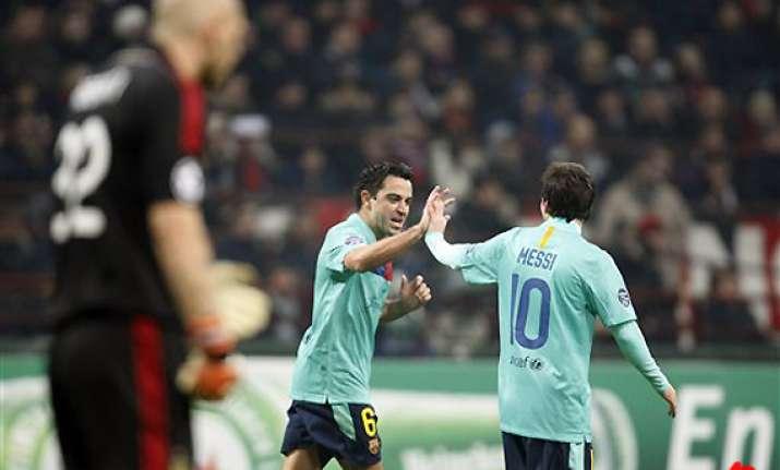 relations improve between barcelona madrid players