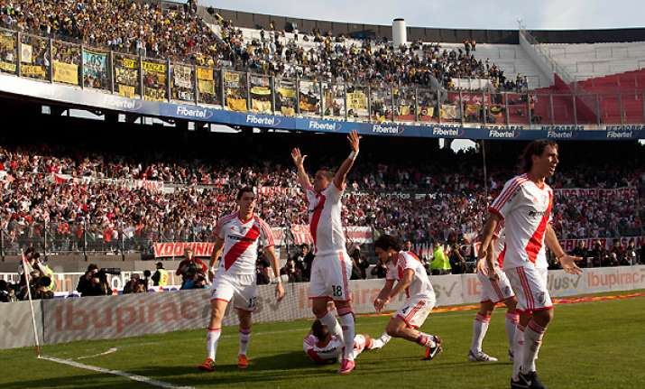 river plate promoted to argentina 1st division