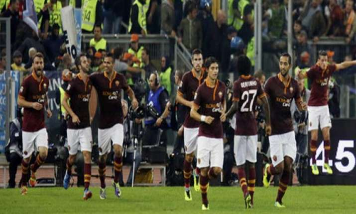 roma matches best start in serie a history