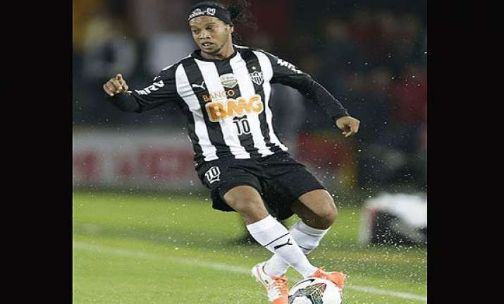 ronaldinho admits form slump