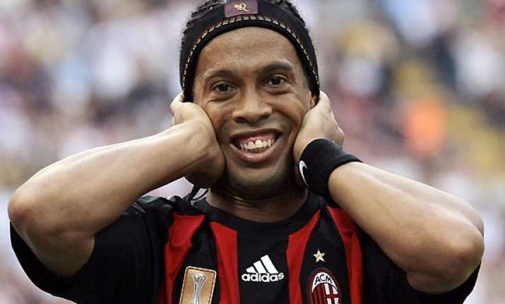ronaldinho undergoes cosmetic surgery for buck tooth