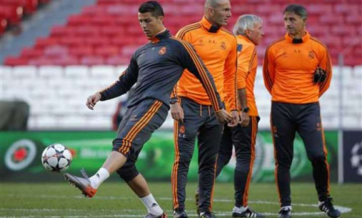 ronaldo fit for champs league benzema pepe doubt
