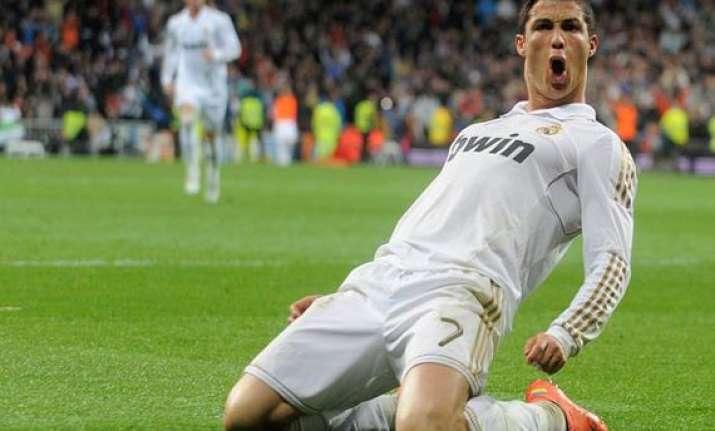 ronaldo s 2 goals lift madrid over chelsea 3 1