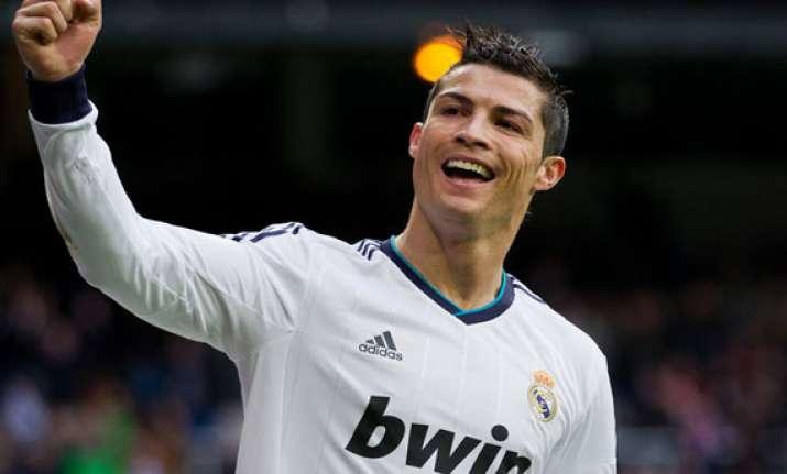 ronaldo s 2 goals in real madrid win against juventus
