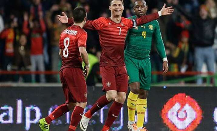 ronaldo sets all time scoring record for portugal.
