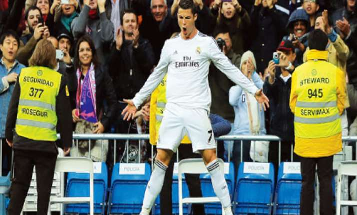 ronaldo suspended for three la liga matches