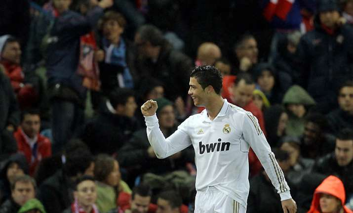 ronaldo matches own goal record in madrid win