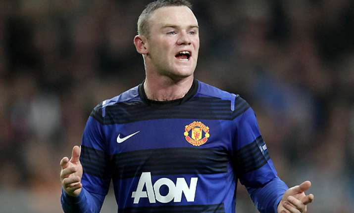 rooney cleverley out for england says ferguson