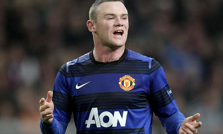 rooney out of united s europa league game vs ajax