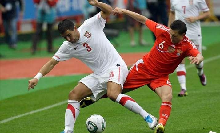russia beats serbia 1 0 in friendly
