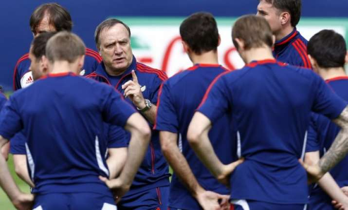 russia players focussed on match not troubles