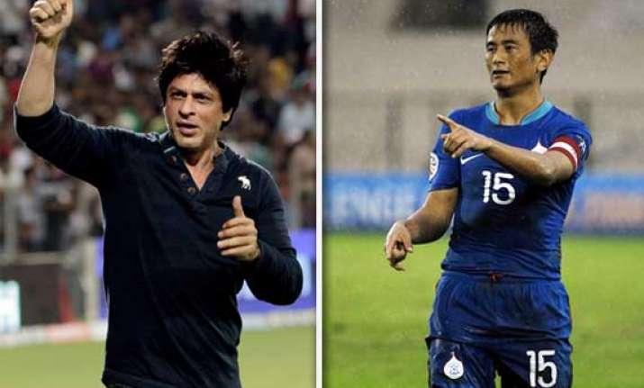 srk in football to be big gamechanger says bhutia