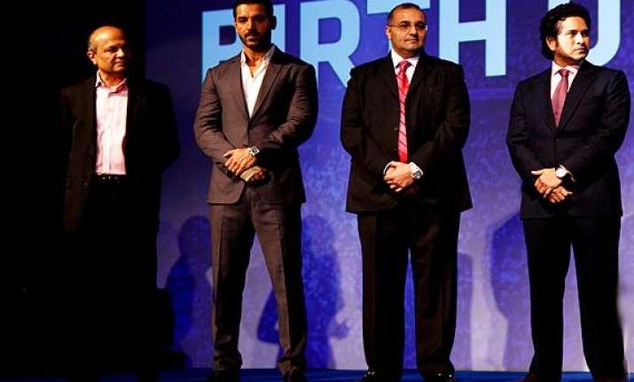 sachin tendulkar ranbir john abhishek launch indian super