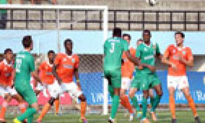 salgaocar hold sporting in six goal i league thriller
