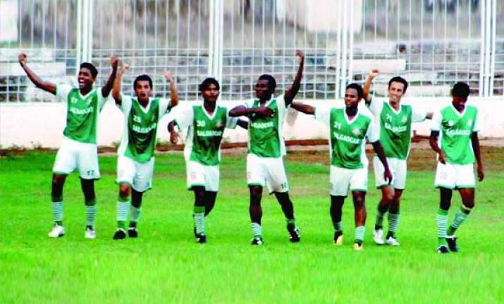 salgaocar crowned i league champions