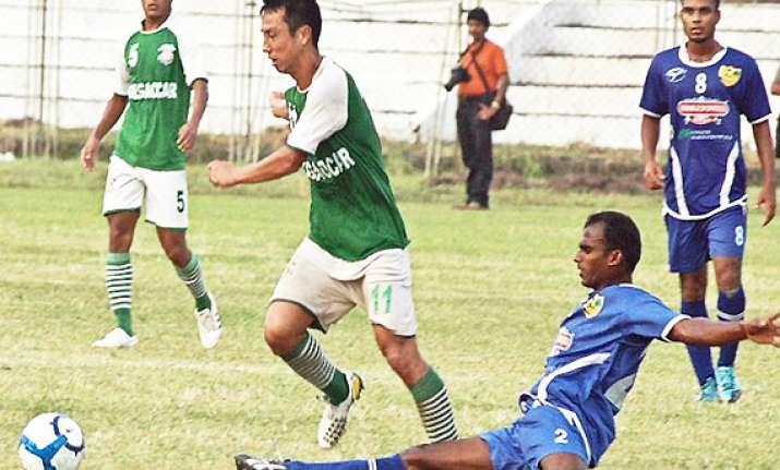 salgaocar scores a win over pailan arrows in i league
