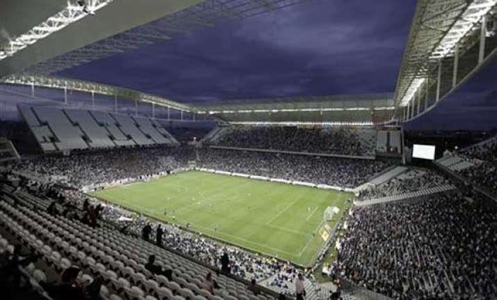 sao paulo stadium hosts final world cup test