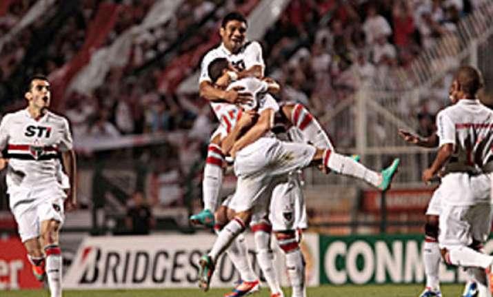 sao paulo reaches copa sudamericana final