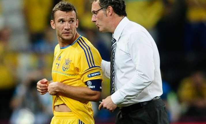 shevchenko an injury doubt to face england