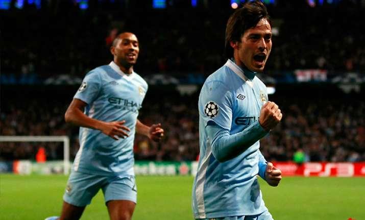 silva goal keeps man city on top of premier league