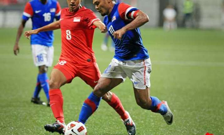 singapore beats malaysia 5 3 in world cup qualifying