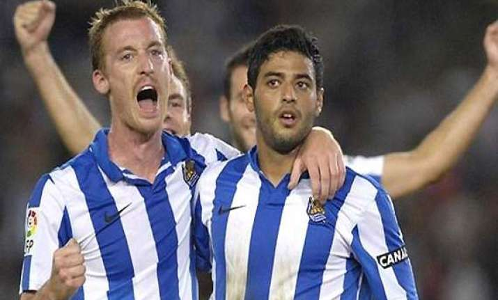 sociedad beats sevilla 2 1 in spanish league