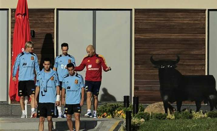 spain avoids gdansk turf ahead of ireland match