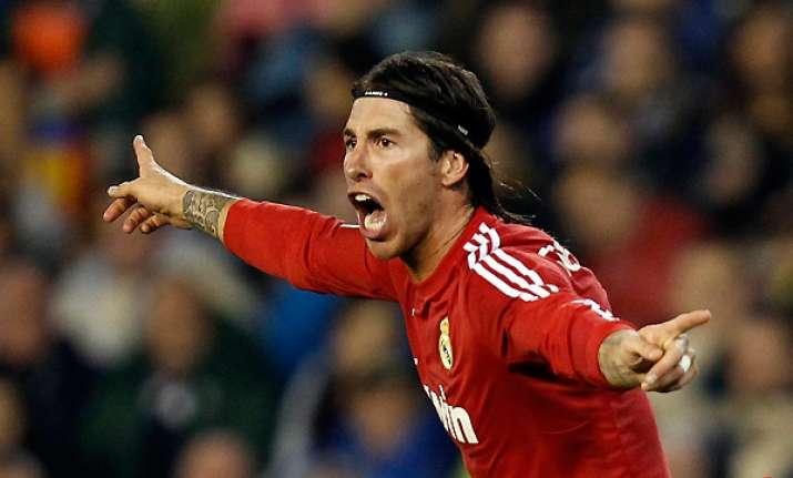 spanish leader real madrid beats valencia 3 2