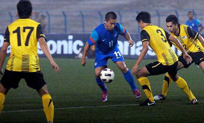 spirited afghanistan hold india 1 1 in saff championship