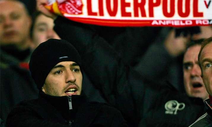 suarez finally makes return for liverpool