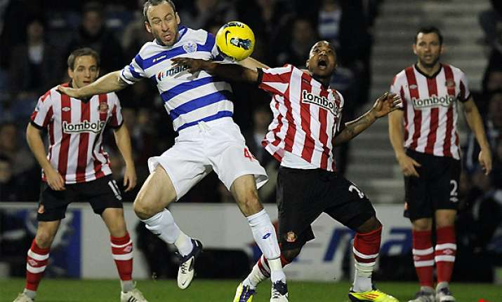 sunderland wins at qpr to move clear of drop zone