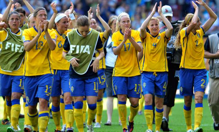 sweden beats australia 3 1 to reach semifinals