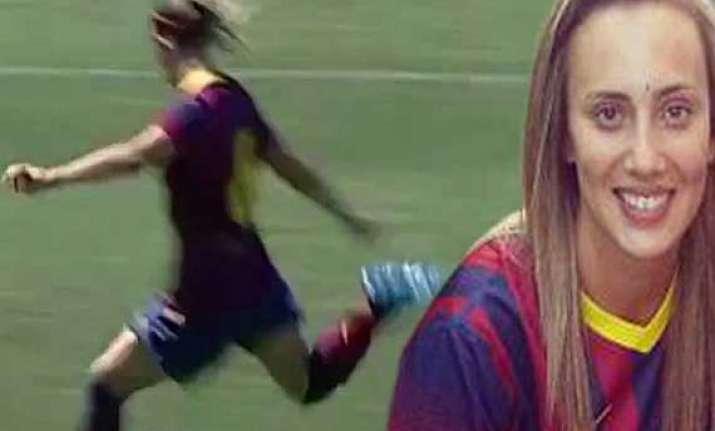 this is how virginia torrecilla scored beckham esque goal