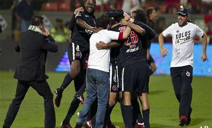 tijuana wins mexican apertura soccer title